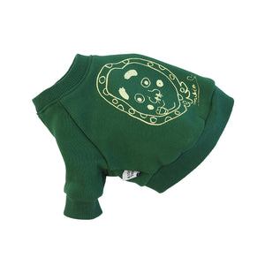 Hyottoko Dog's Sweatshirt IvyGreen