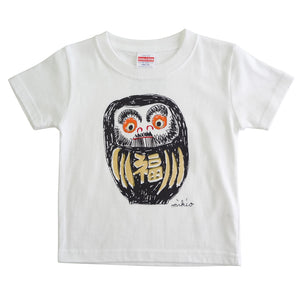 Daruma Kid's T shirt Black