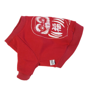 Daruma Dog's Sweatshirt Red