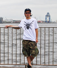 Tarantula Men's T-shirt White