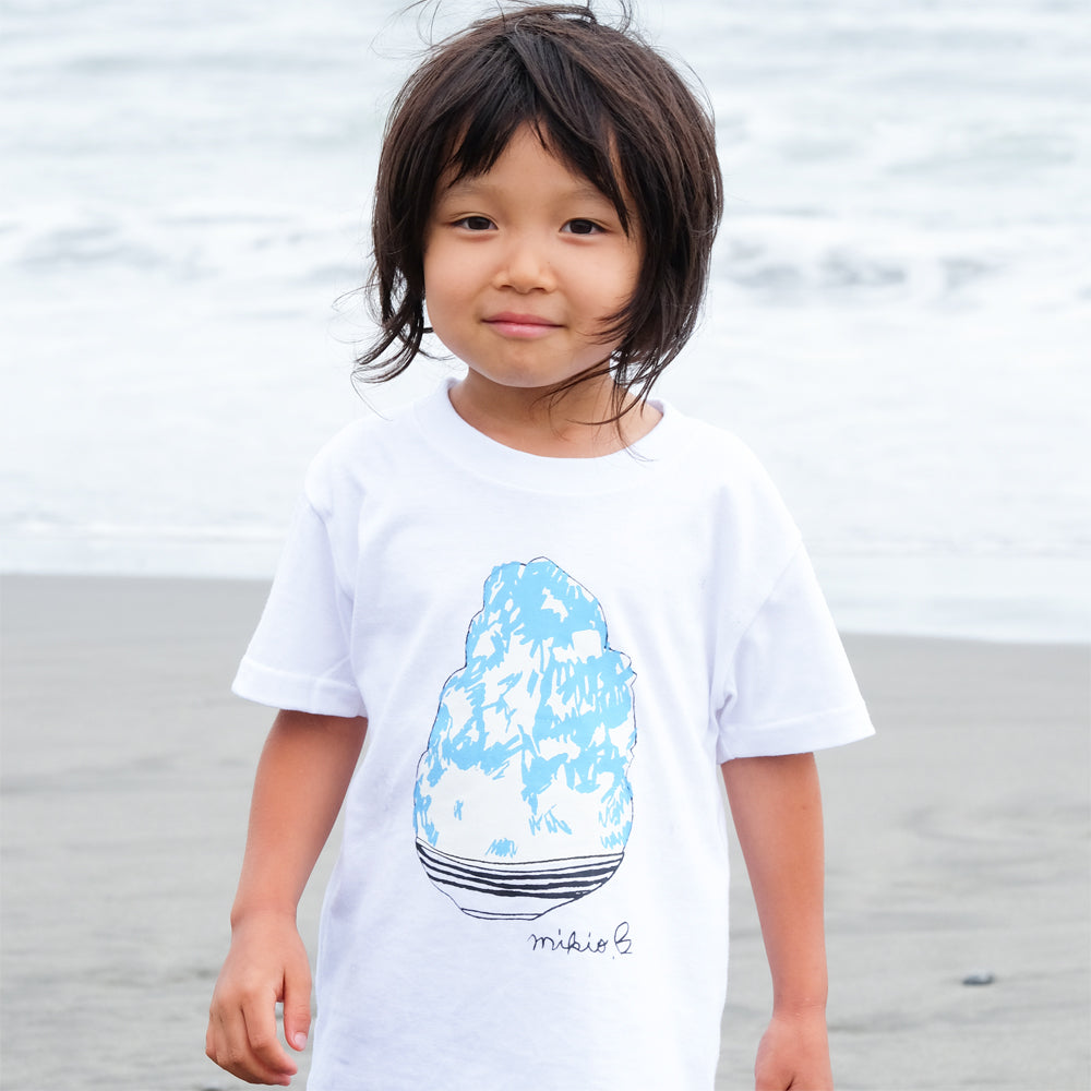 Shaved Ice Kid's T shirt BlueHawaii