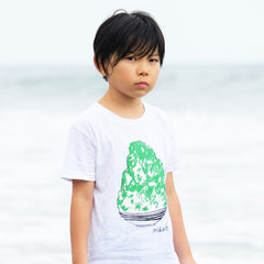 Shaved Ice Kid's T shirt Melon