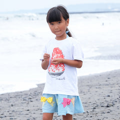 Shaved Ice Kid's T shirt Strawberry