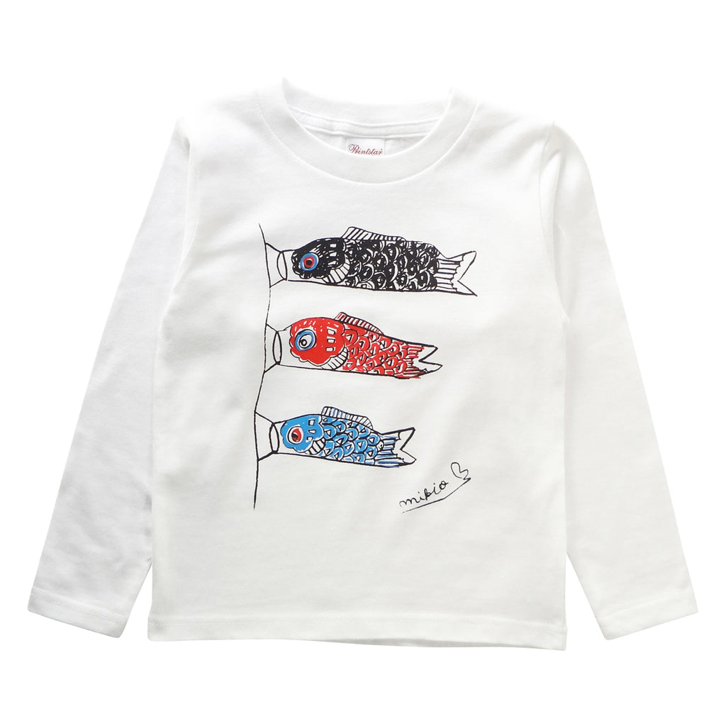 Koinobori Kid's Long Sleeve T shirt