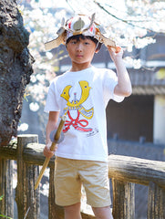 Kabuto Kid's T shirt White