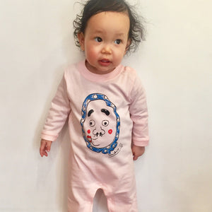 Hyottoko Long Sleeve Baby's Romper