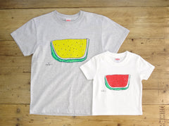 Watermelon Men's T shirt Ash
