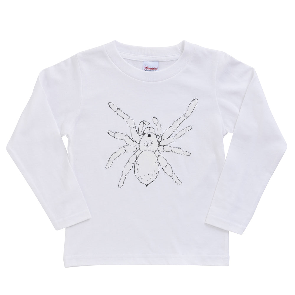 Tarantula Glow-In-The-Dark Long Sleeve Kid's T shirt