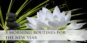 3 morning routines for the new year
