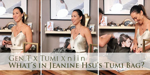 Gen T x Tumi x niin - Ever wondered what entrepreneurs carried around in their bag?