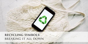 Recycling symbols - breaking it all down
