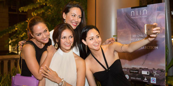 Ajei Collection Launch - Ankie Bielke, Jeanine Hsu, Rosemary Vandenbroucke, Jocelyn LukoSandstrom