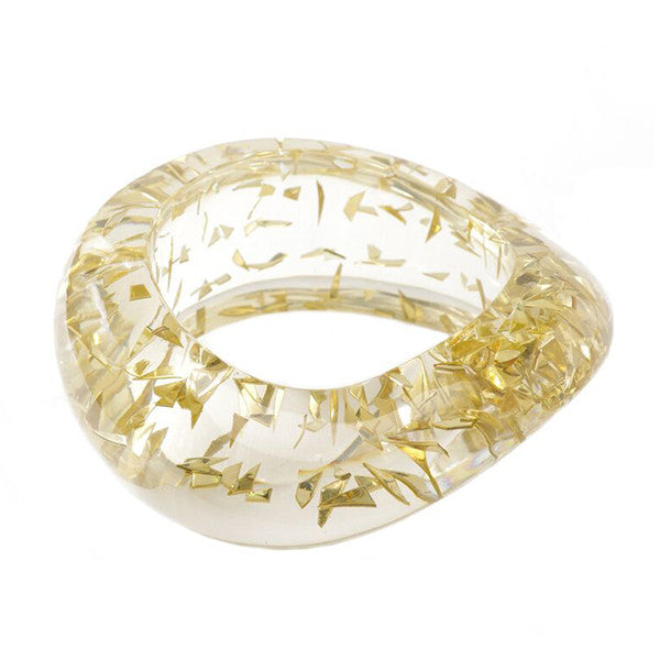 bangles ice products hiphopbling gold log bangle bracelet thick bling