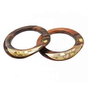 Umbra Crescent Shell Bangle