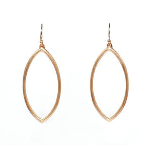 Umbra Oval Earrings