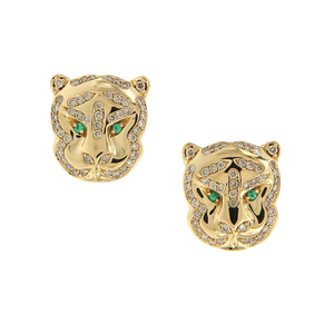 Gaia Fine Khan Stud Earrings