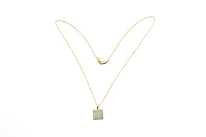 Vida Cube Flip Pendant Necklace