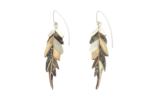 Ajei Feather Drop Earrings