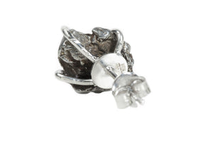 Cosmo Meteorite Small Stud Earrings