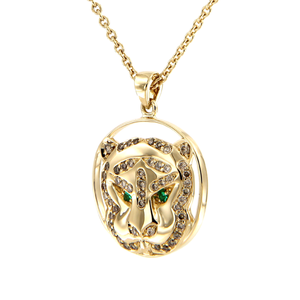 Gaia Fine Khan Pendant Necklace