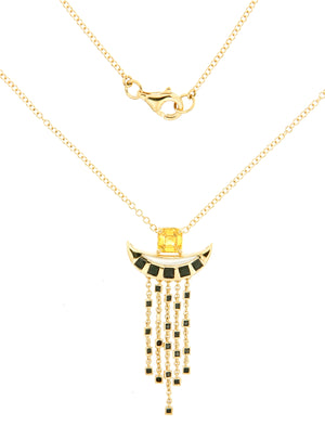 Solar Fine Pluto Chain Necklace