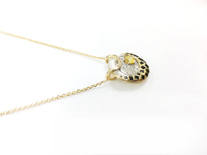 Solar Fine Moon Pendant Necklace