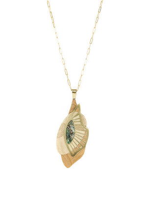 Zayah Wing Necklace