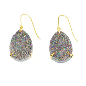 Yin Drusy Spectrum Earrings