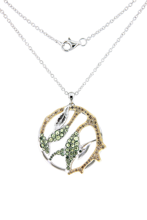Gaia Fine Banyan Large Pendant Necklace
