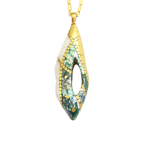 Eska Drop Pendant Necklace