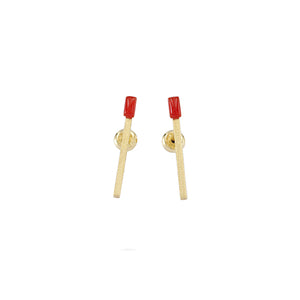 Sisu Bar Stud Earring