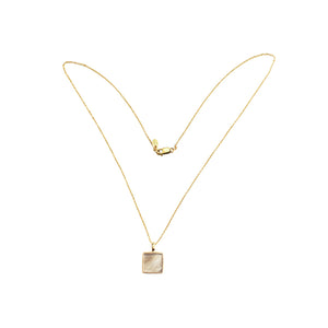 Sisu Cube Pendant Necklace
