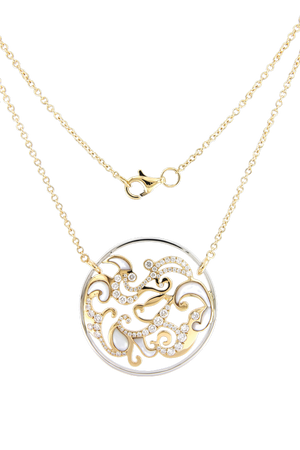 Gaia Fine Cirrus Pendant Necklace