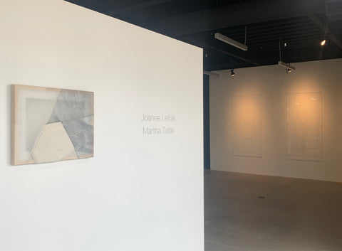 Martha Tuttle and Joanne Lefrak at Pie Projects