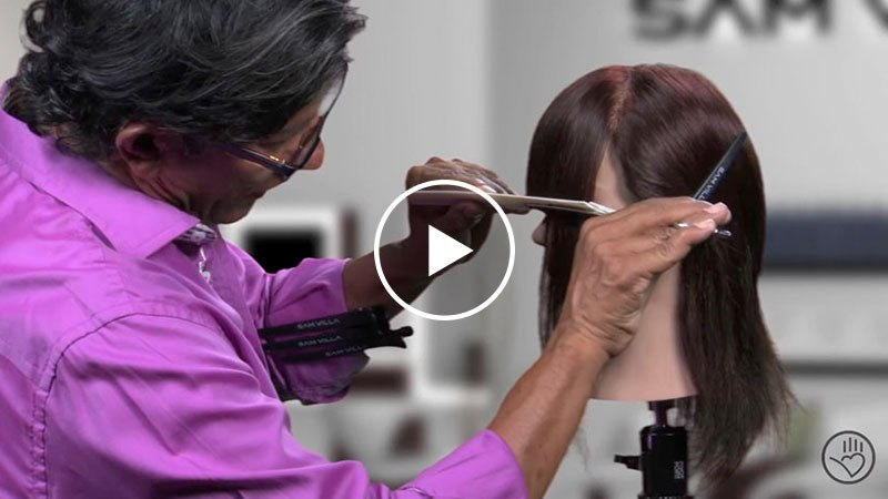How To Cut and Finish a Full Fringe