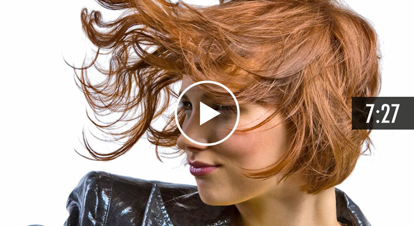 How To Create Volume in the Crown Cutting Soft Layers in Longer Hair