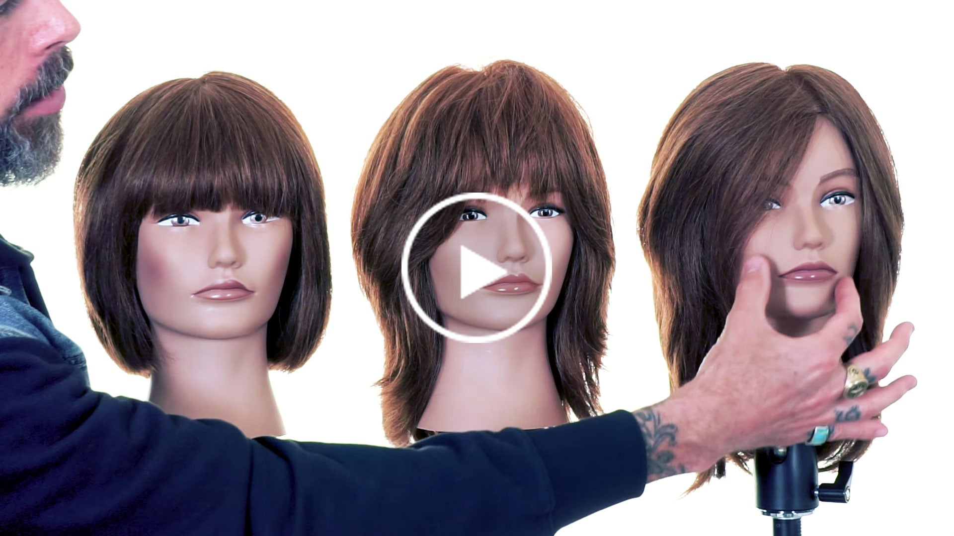 How to Create Hairstyles According to Face Shape - Working With Features
