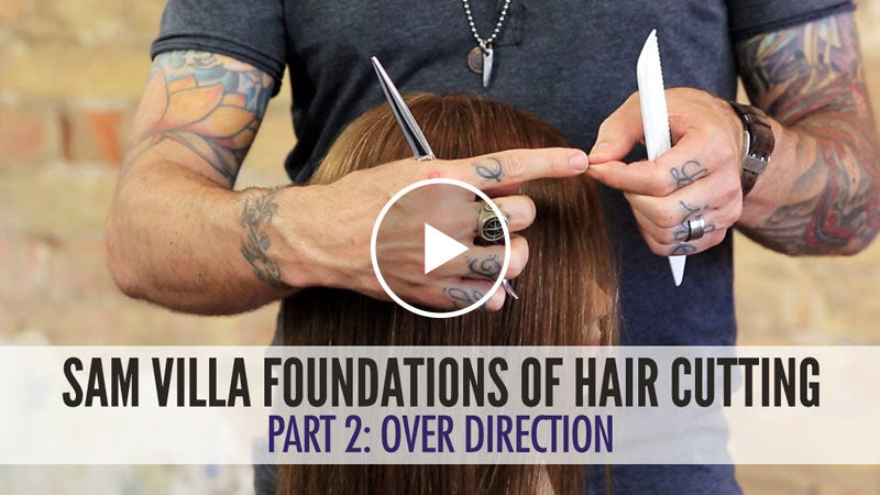 Hair Cutting Foundations - Over-Direction