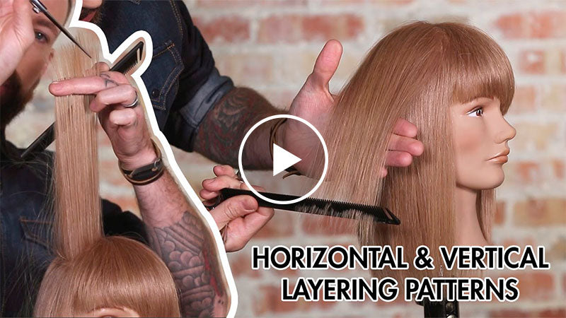 The Difference Between Horizontal and Vertical Layering for Haircuts
