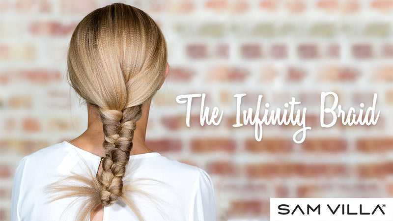 The Infinity Braid Hairstyle
