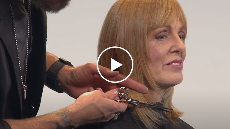 Face Framing Layers to Fine Hair
