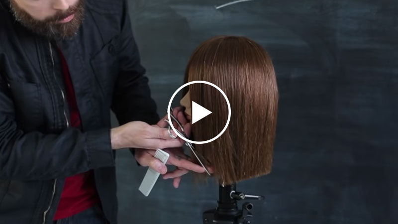 Face Framing Technique For Adding Texture Without Removing Length