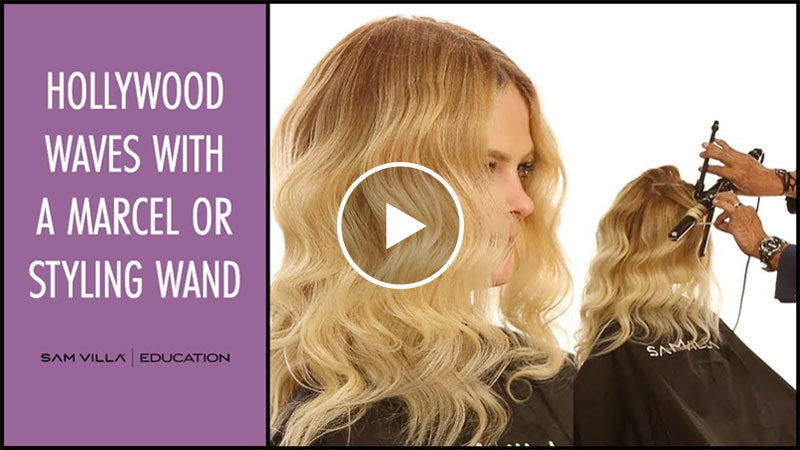 hollywood waves marcel styling wand