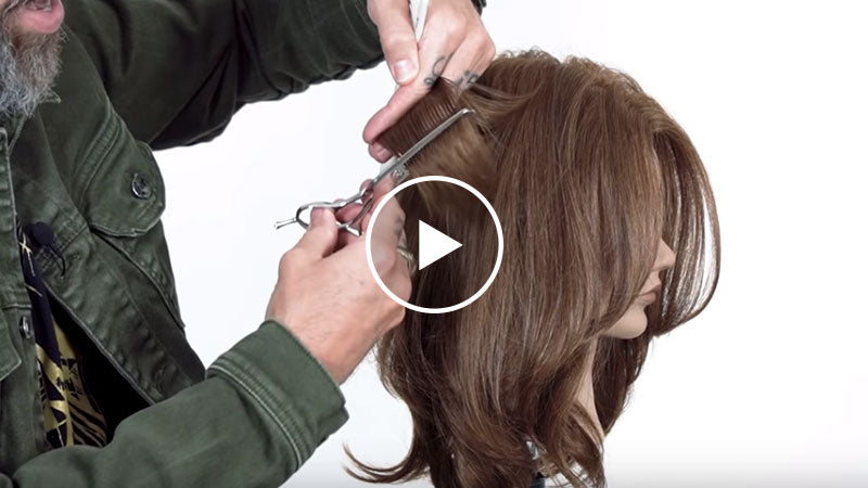 Long Layers with Face Framing