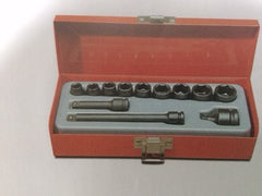 1/4 Dr. Metric Impact Socket Set: 69501121