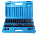 1/2'' Dve SAE 28 Piece Impact Socket Set - 600202801