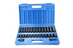 1/2'' Dr. 30 Piece Metric Action Impact Socket Set - 607203001