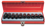3/8 Dr. Metric Action Universal Impact Socket Set - 69511102