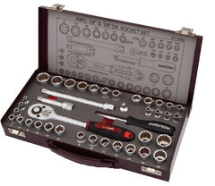 1/4'' & 3/8'' Drive Socket Set Metric & AF Set - ET10400