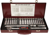 3/8 Drive Std & Deep Metric / AF Socket Set - 41 Pce.   ET10505